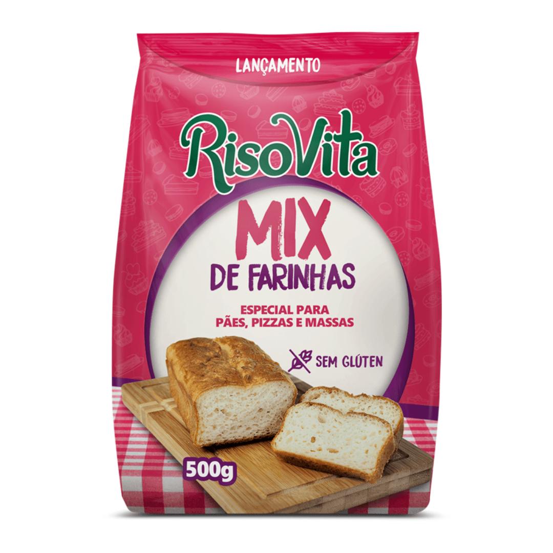 Mix De Farinhas Especial Sem Glúten Risovita 500g