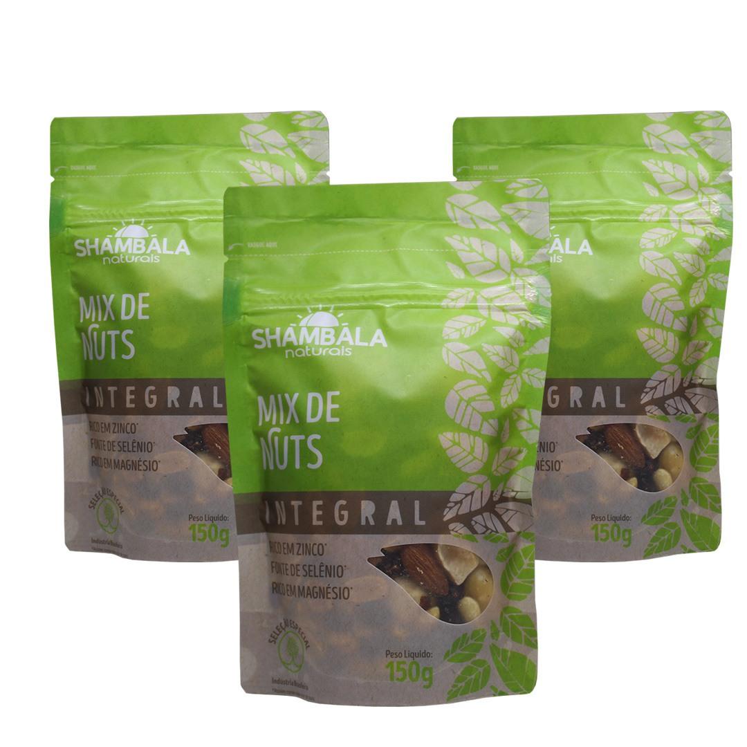 Mix de Nuts 150g - Shambala kit com 3