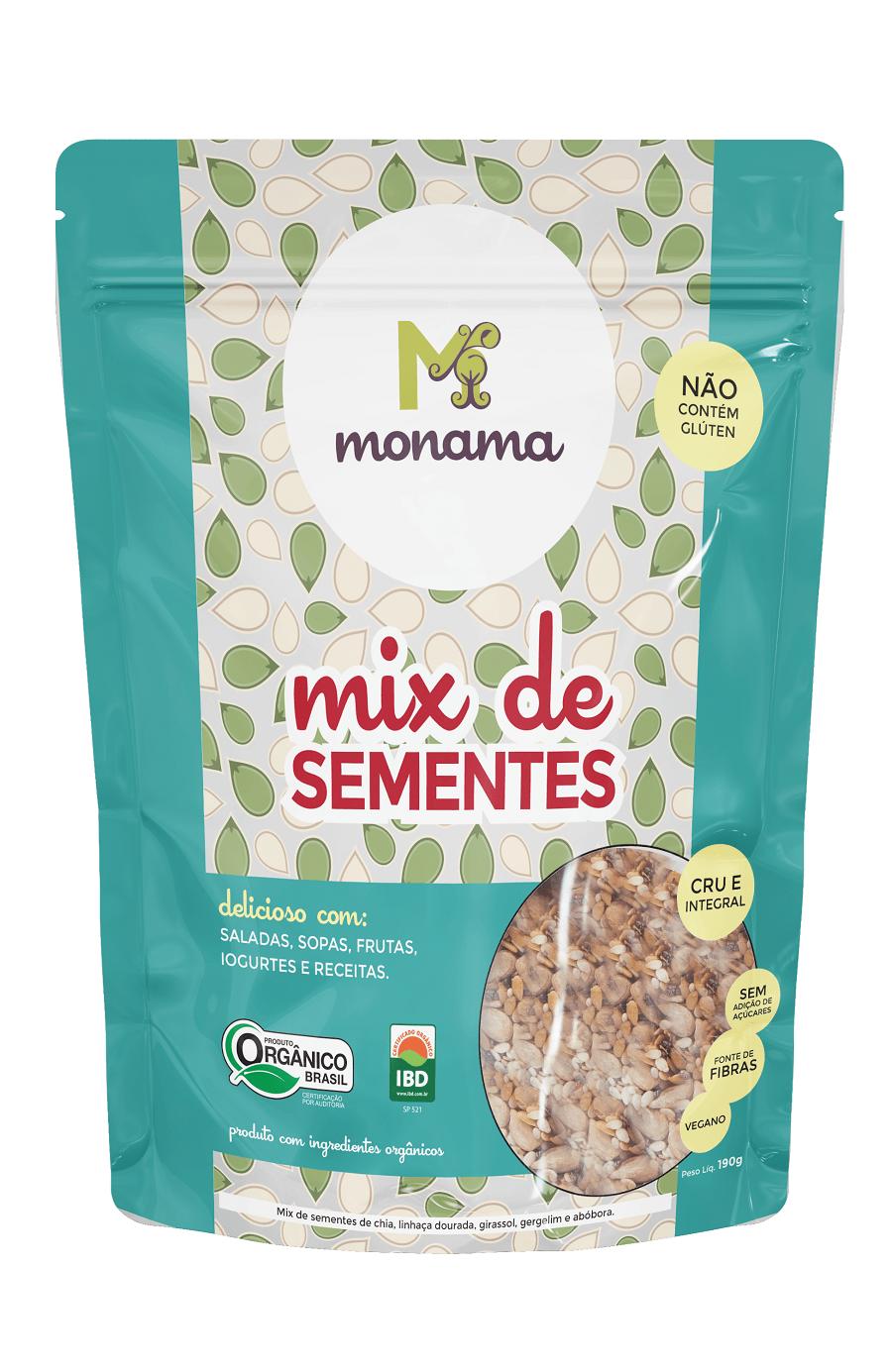 Mix de Sementes Orgânica - Monama