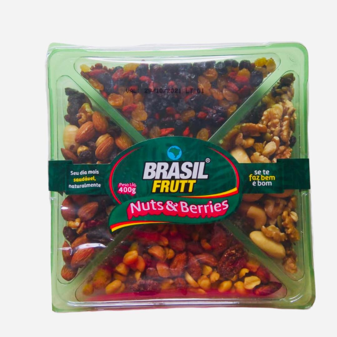 Mix nuts e berries Brasil Frutt 400g