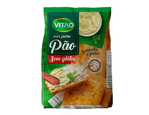 Mix para pão sementes e grãos Vitao 300g