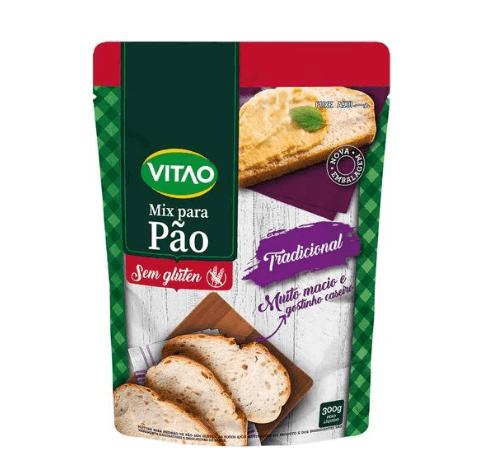 Mix para pão tradicional Vitao 300g
