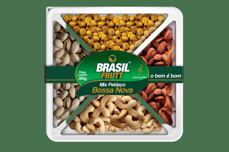 Mix petisco bossa nova Brasil Frutt 360g