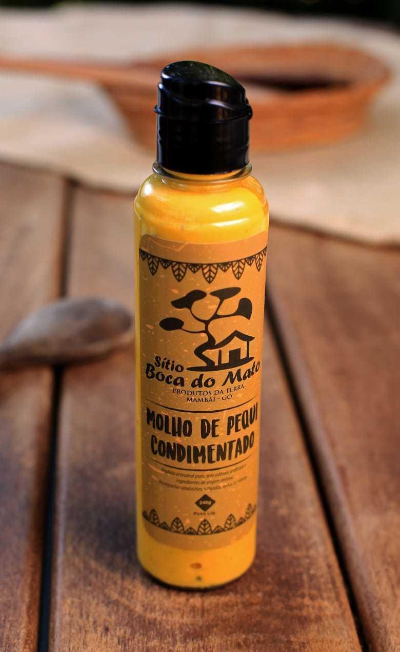 Molho de Pequi Condimentado - Sítio Boca do Mato 240g