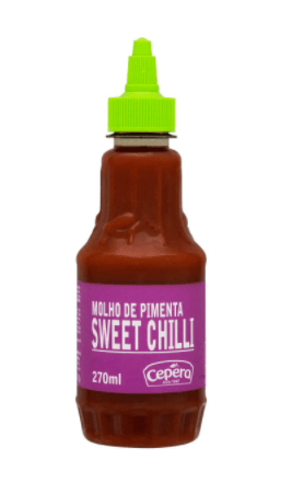Molho de pimenta sweet chilli Cepêra 270ml