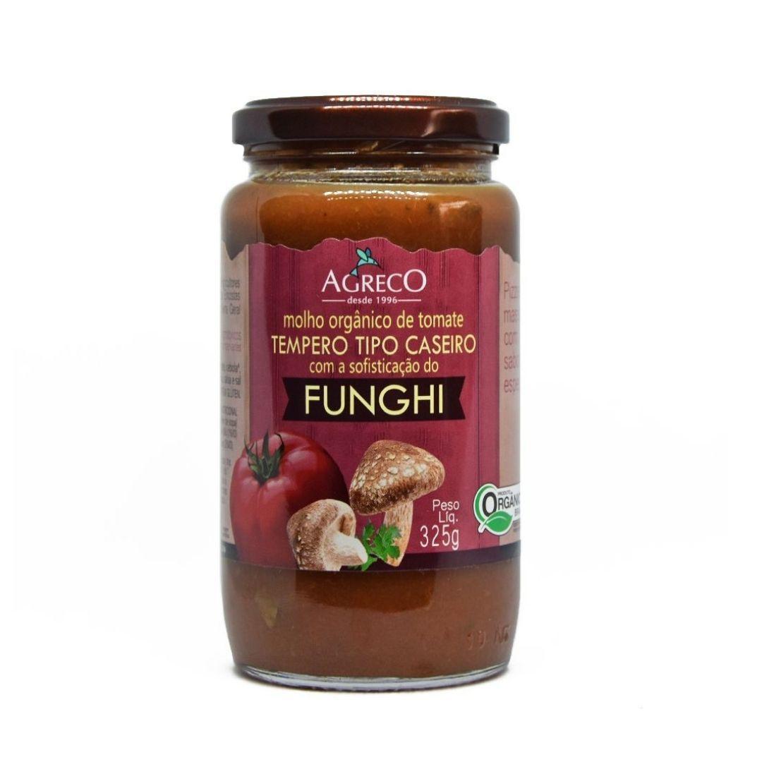 Molho de Tomate de Funghi Orgânico Agreco 325g
