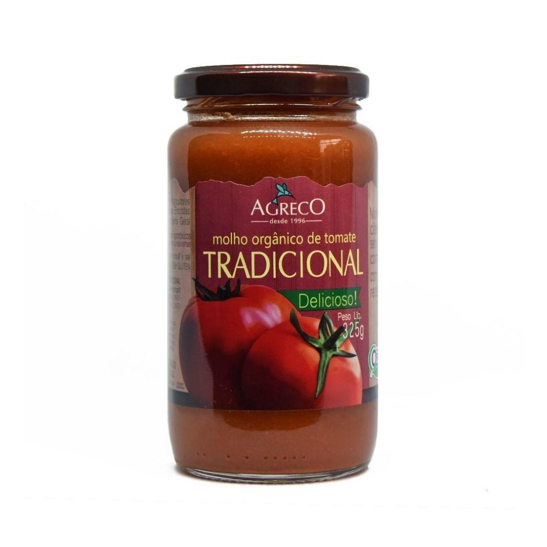 Molho de Tomate Tradicional Orgânico Agreco 325g