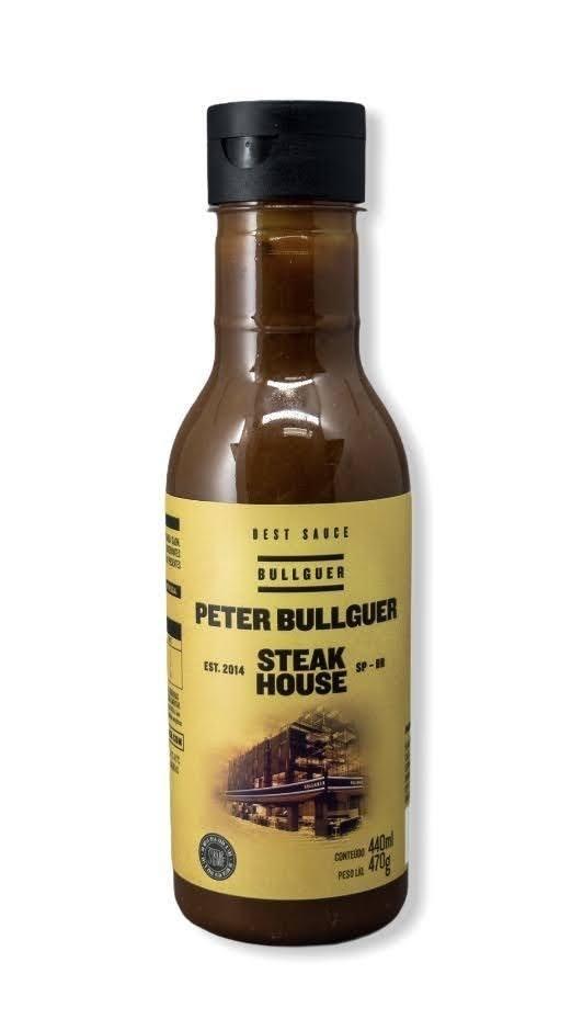 Molho Peter Bullguer 470gr Strumpf