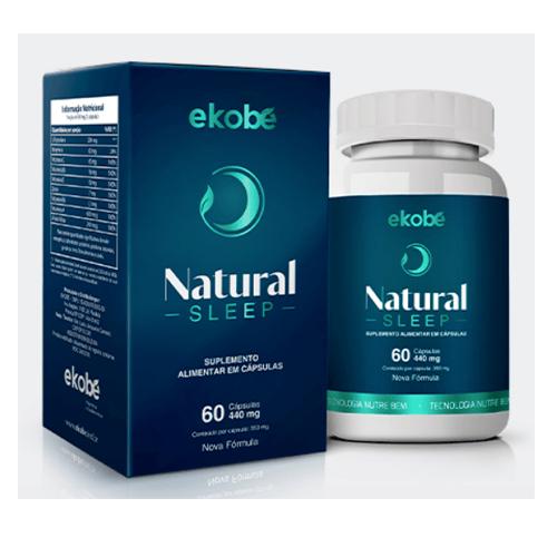 Natural Sleep - Ekobé 60 Cápsulas