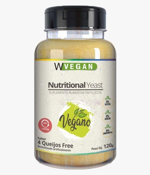 Nutritional Yeast Sabor 4 Queijos Free 120g WVegan