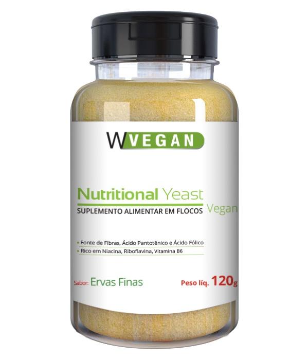 Nutritional Yeast Sabor Ervas Finas 120g WVegan