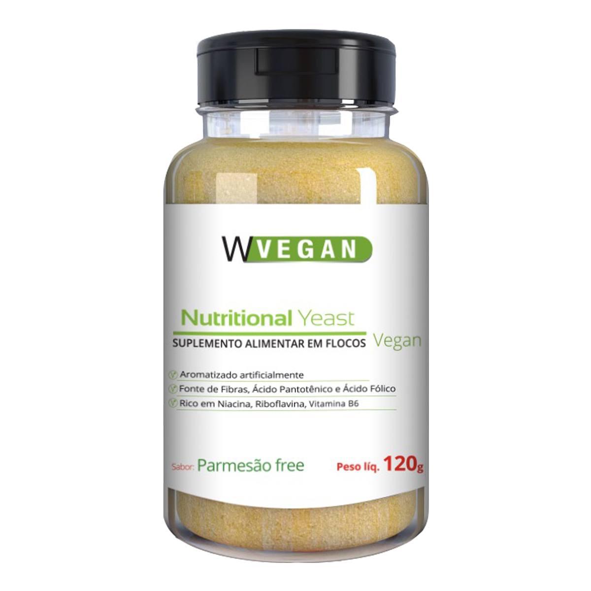 Nutritional Yeast Sabor Parmesão Free 120g WVegan