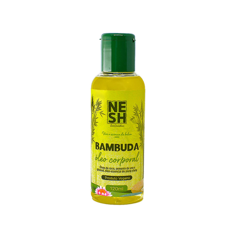 Óleo Corporal Bambuda 98,5% Natural e Vegano - Nesh Cosméticos 120 ml
