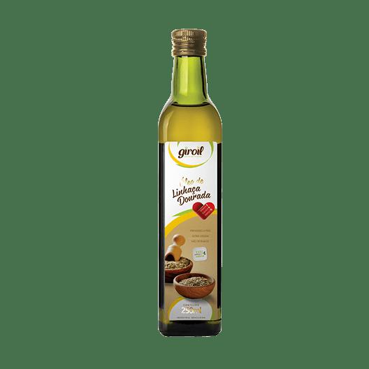 Óleo de Linhaça Dourada Extra Virgem – Giroil 250ml