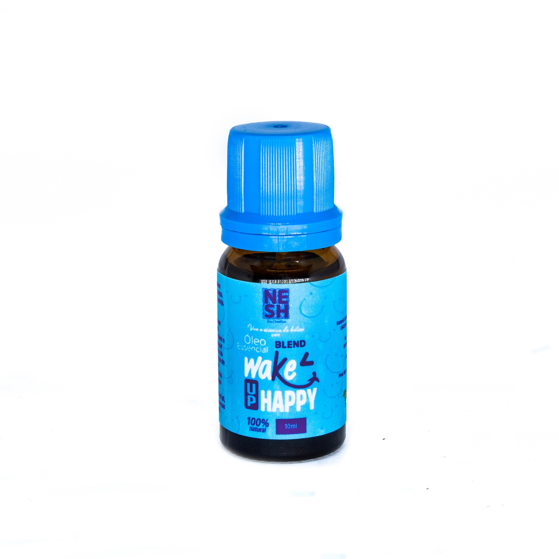 Óleo Essencial Blend Wake Up Happy 100% Natural - Nesh Cosméticos 10ml