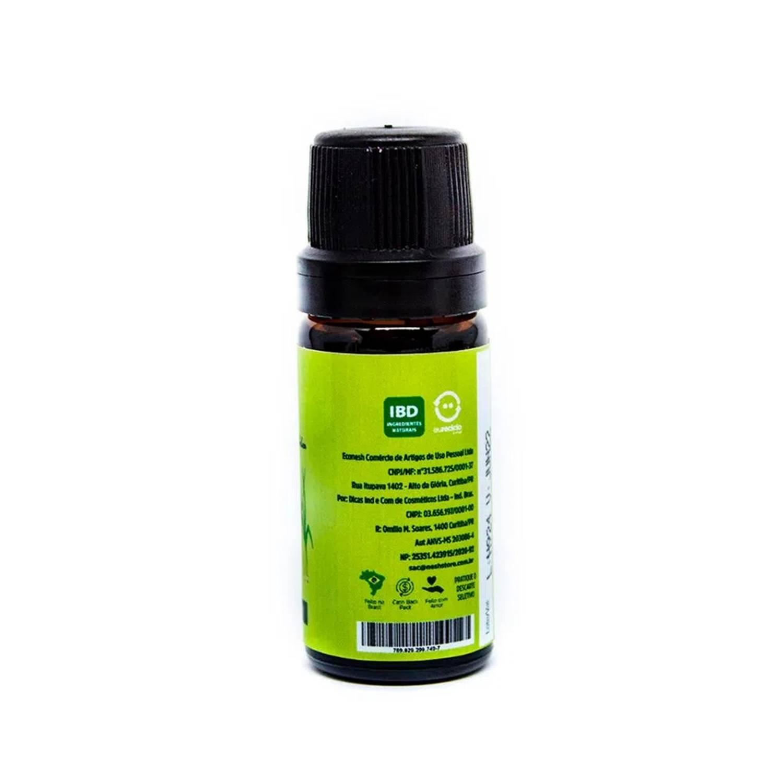 Óleo Essencial de Capim Limão Selo IBD - Nesh Cosméticos 10ml