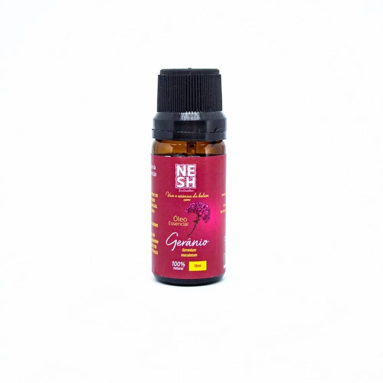Óleo Essencial de Gerânio Selo IBD - Nesh Cosméticos 10 ml