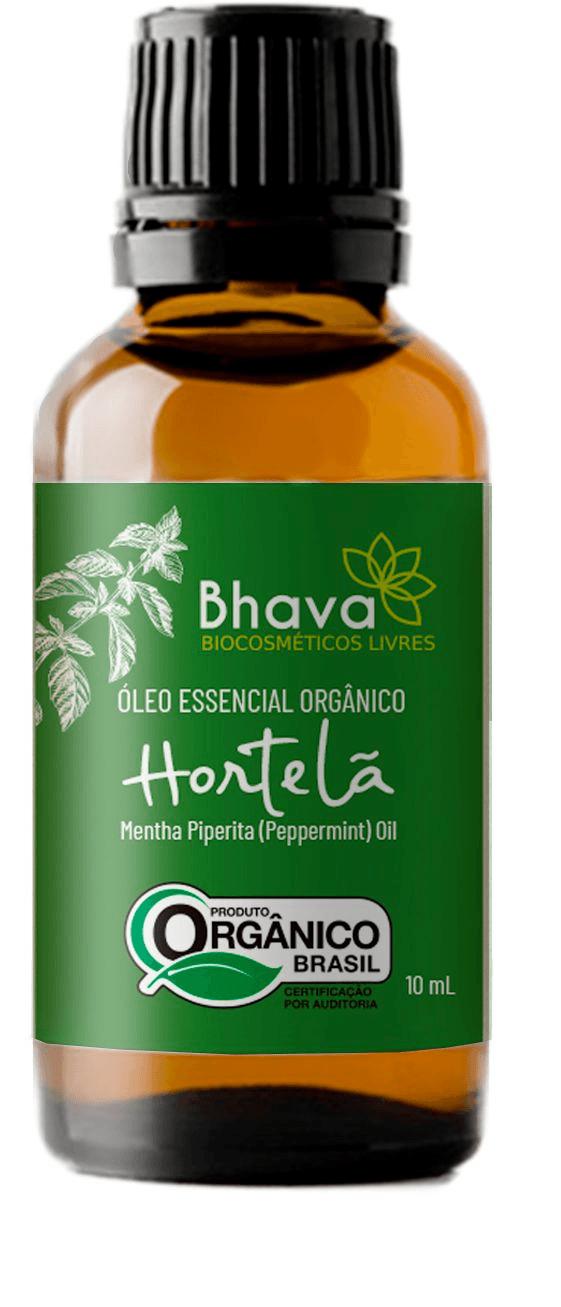 Óleo essencial de hortelã pimenta orgânico 10ml