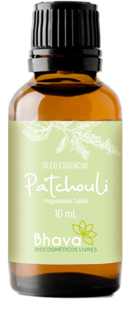 Óleo Essencial de patchouli certificado IBD Natural 10ml