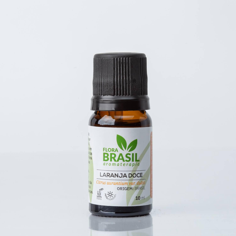 Óleo Essencial Laranja Doce - Flora Brasil 10ml