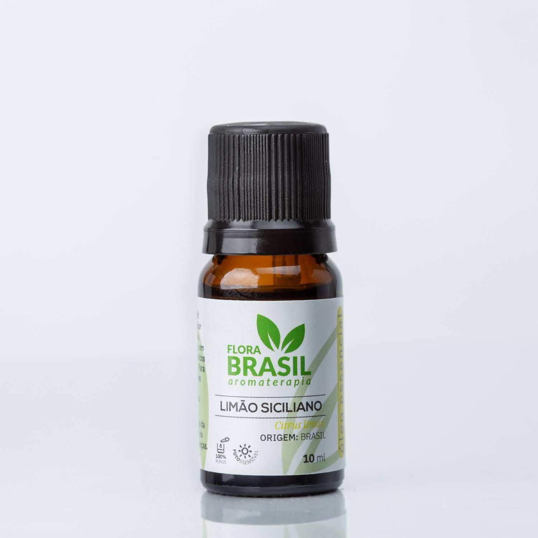 Óleo Essencial Limão Siciliano - Flora Brasil 10ml