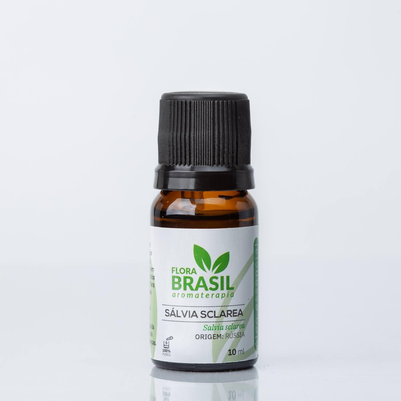 Óleo Essencial Sálvia - Flora Brasil 10ml