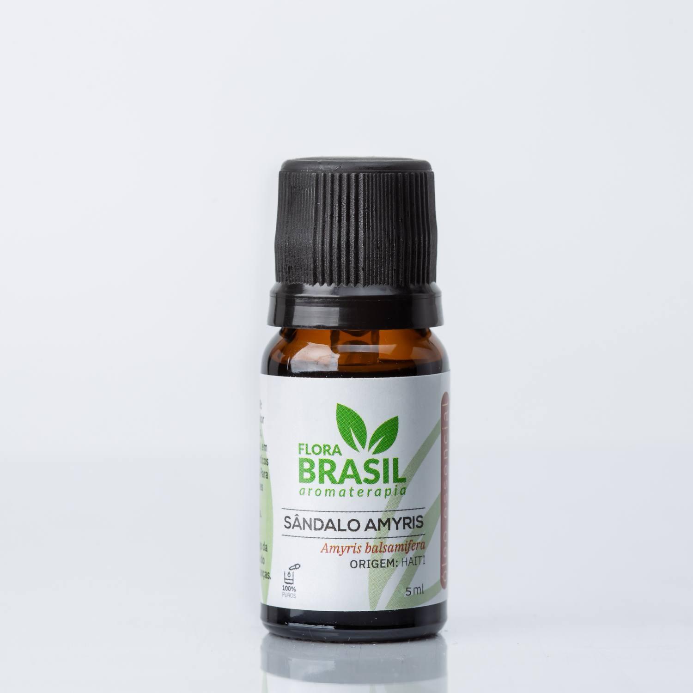 Óleo Essencial Sândalo Amyris - Flora Brasil 5ml