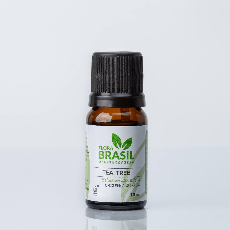 Óleo Essencial Tea-Tree (Melaleuca) - Flora Brasil 10ml