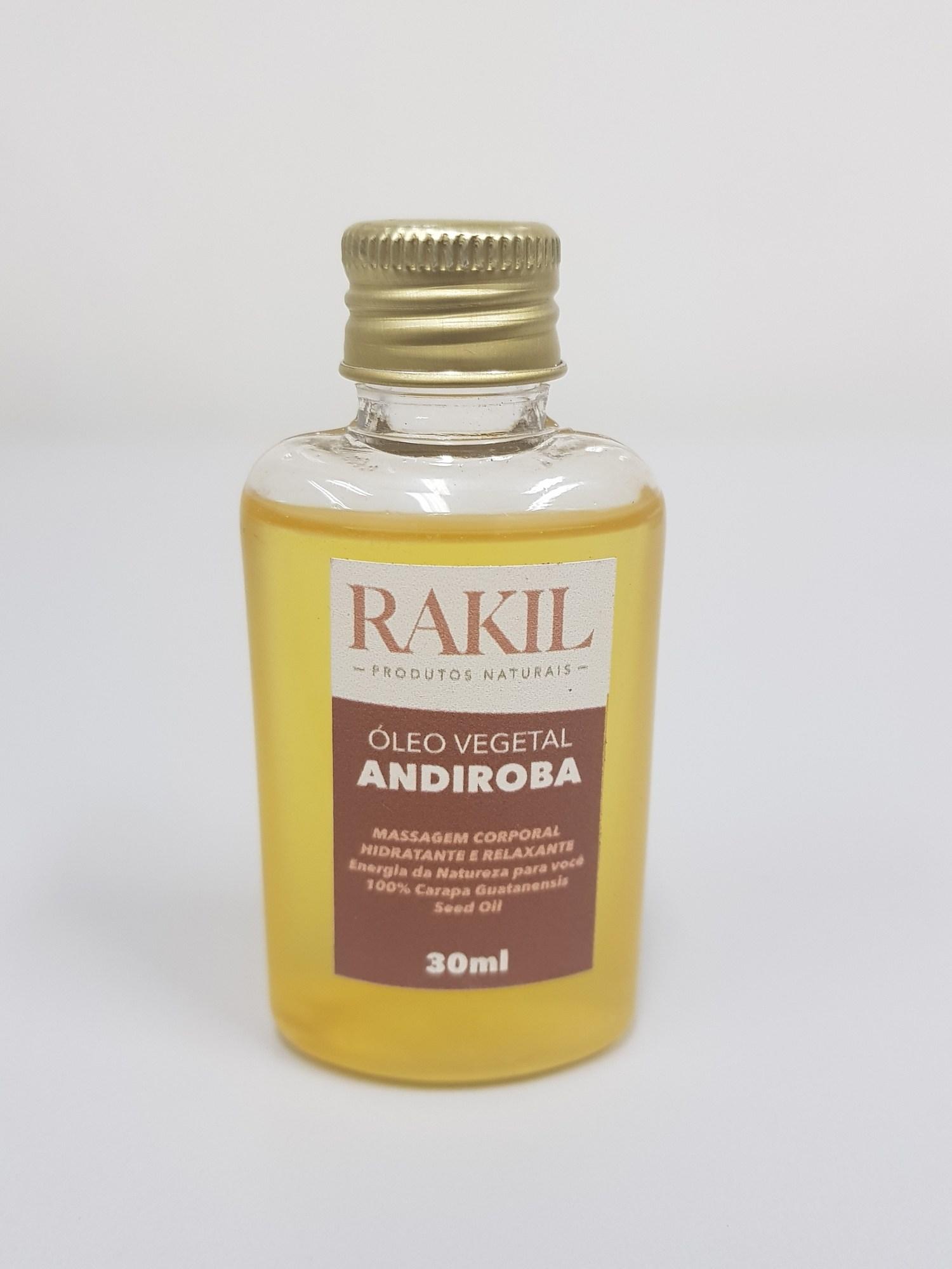 ÓLEO VEGETAL ANDIROBA 30 ml