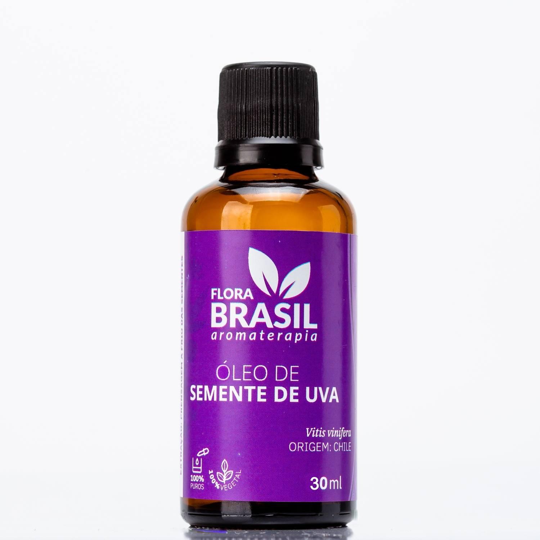 Óleo Vegetal Semente de Uva - Flora Brasil 30ml