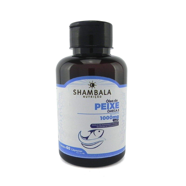 Omega 3 Oleo de Peixe Shambala 60 Caps X 1000mg