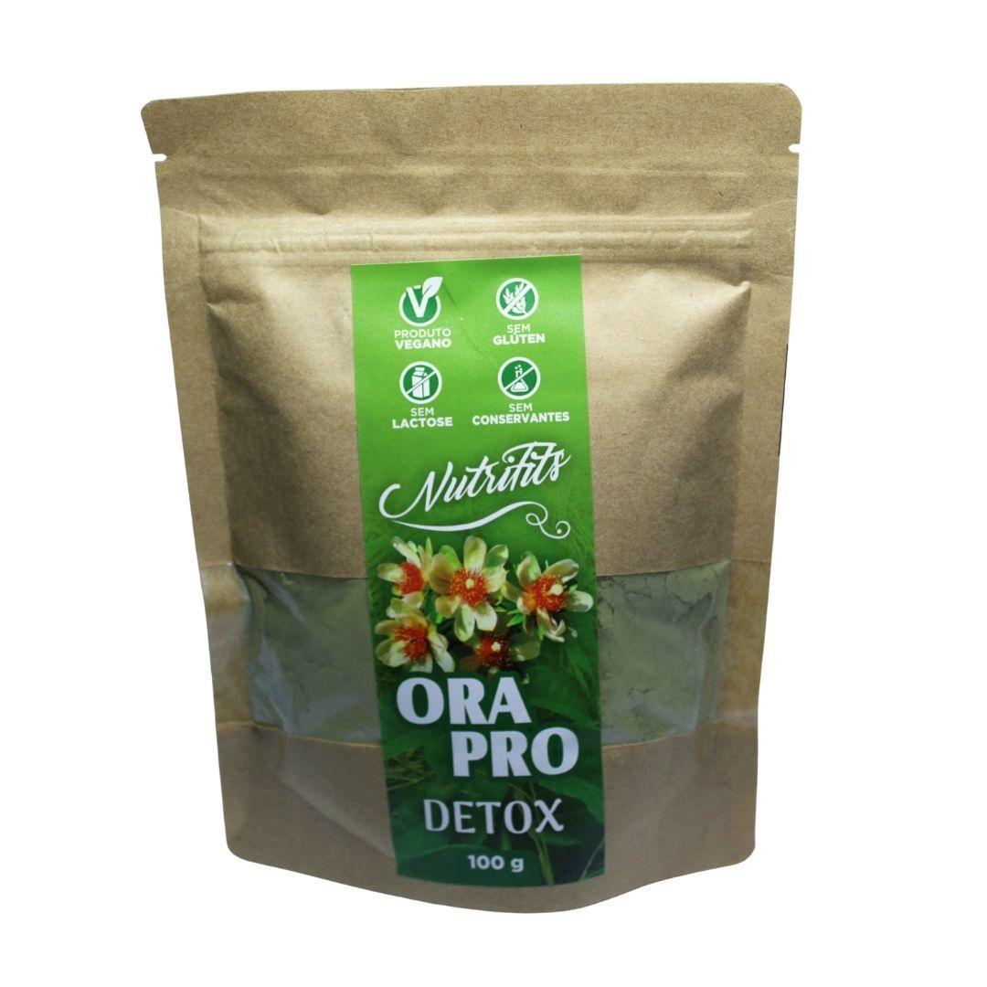 Ora-Pro-Nóbis em Pó Detox Abacaxi Nutrifits 100g