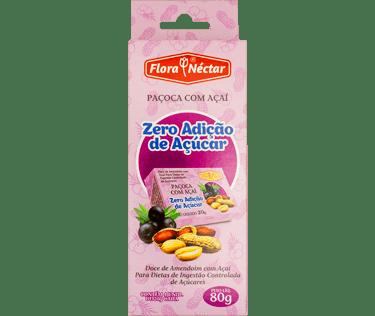 Paçoca com Açaí Zero Açúcar