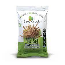 Palitos lowcarb cebola e orégano Leve Crock 50g