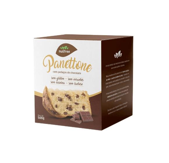 Panetone chocolate gourmet NutFree 500g