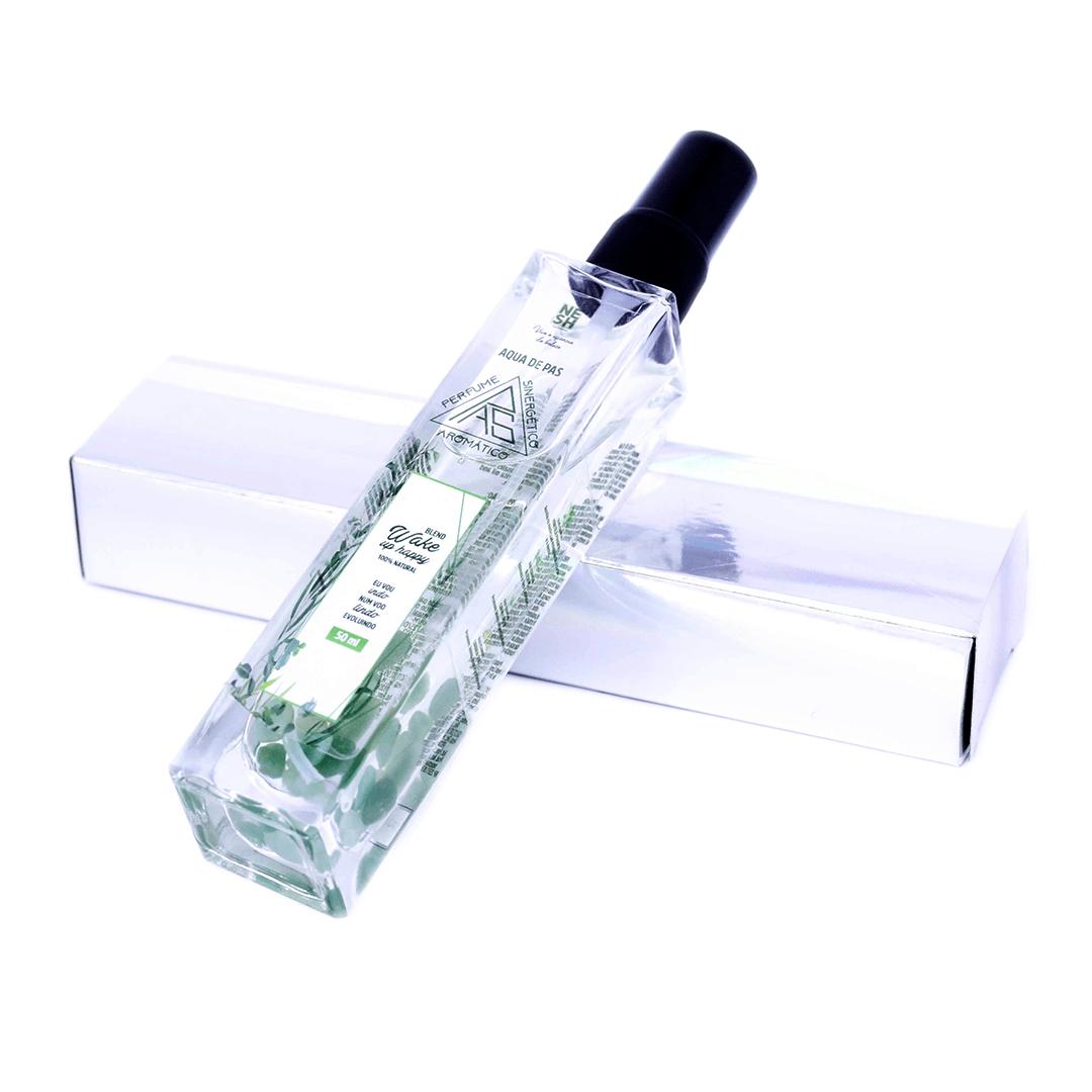 PAS Perfume Aromático Sinergético Wake Up Happy - Nesh Cosméticos 50 ml