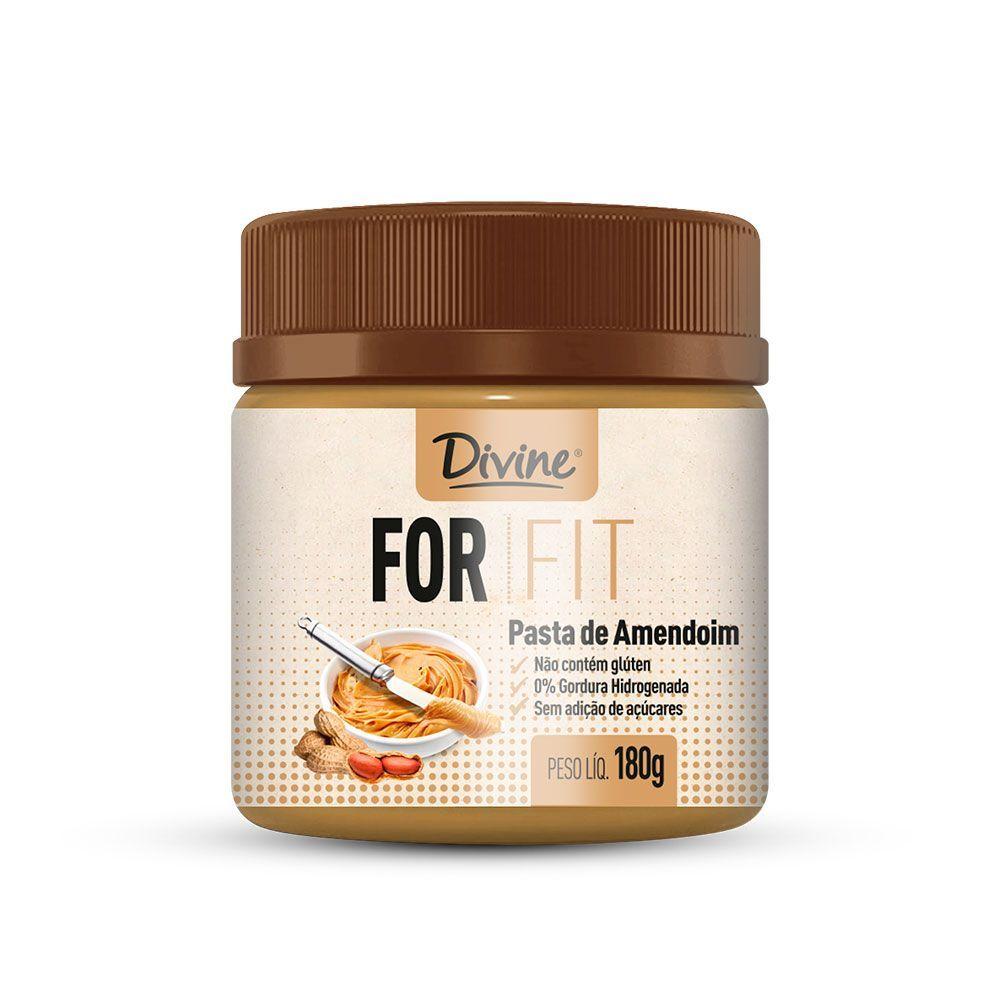 Pasta de amendoim for fit Divine 180g