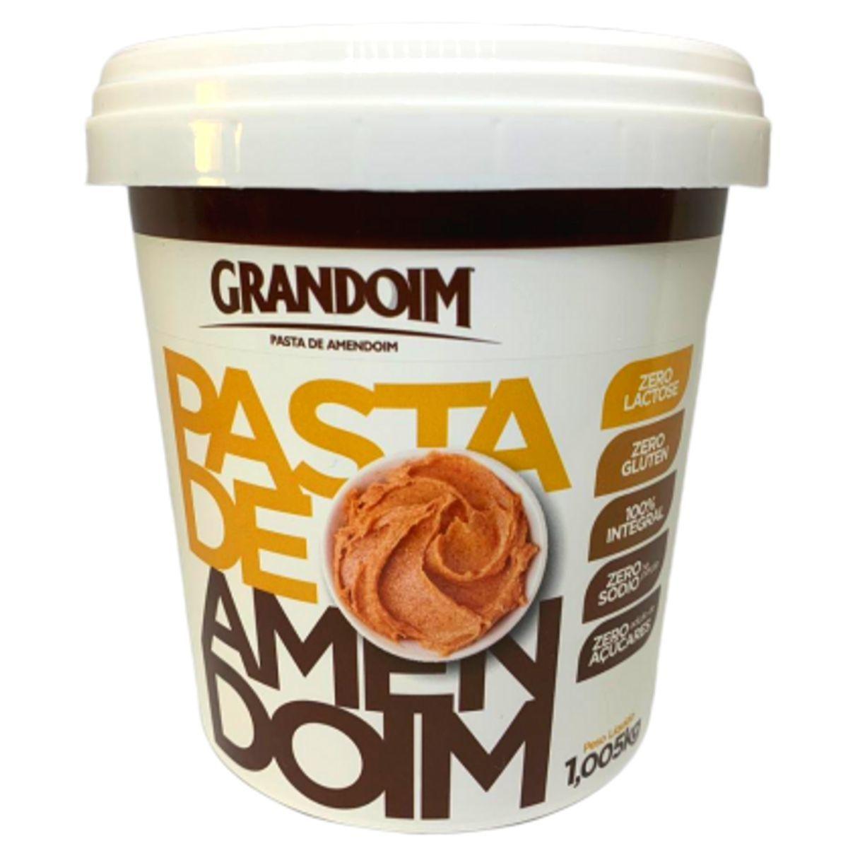 Pasta de Amendoim Integral Grandoim Sem Glúten 1kg