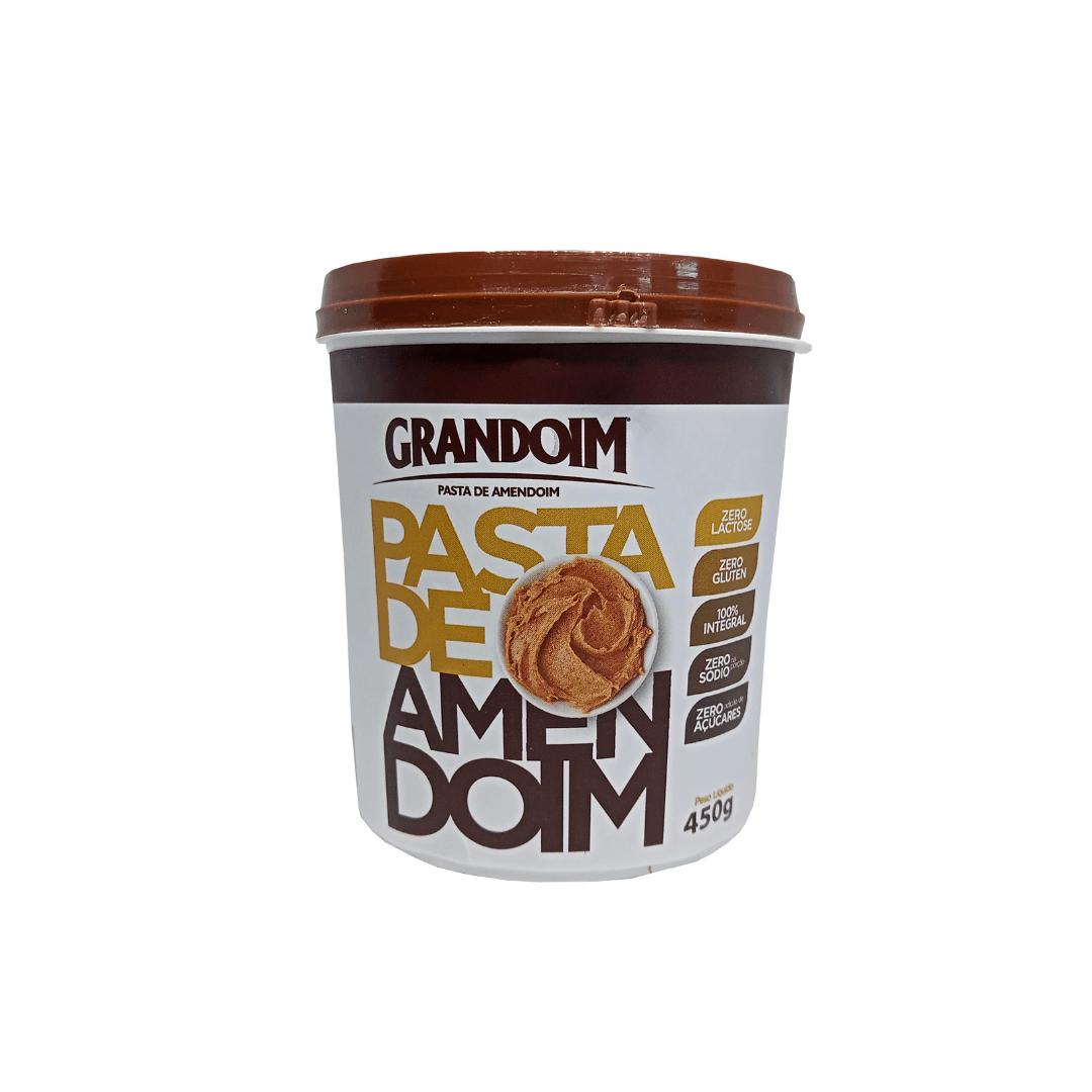 Pasta de Amendoim Integral Grandoim Sem Glúten 450g