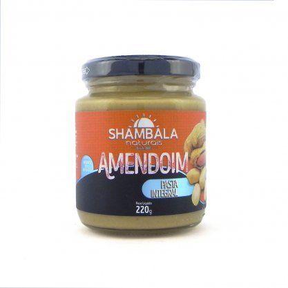 Pasta de amendoim integral Shambala 220g