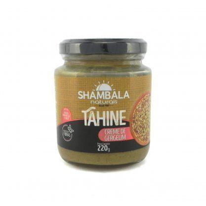 Pasta de gergelim integral tahine Shambala 220g