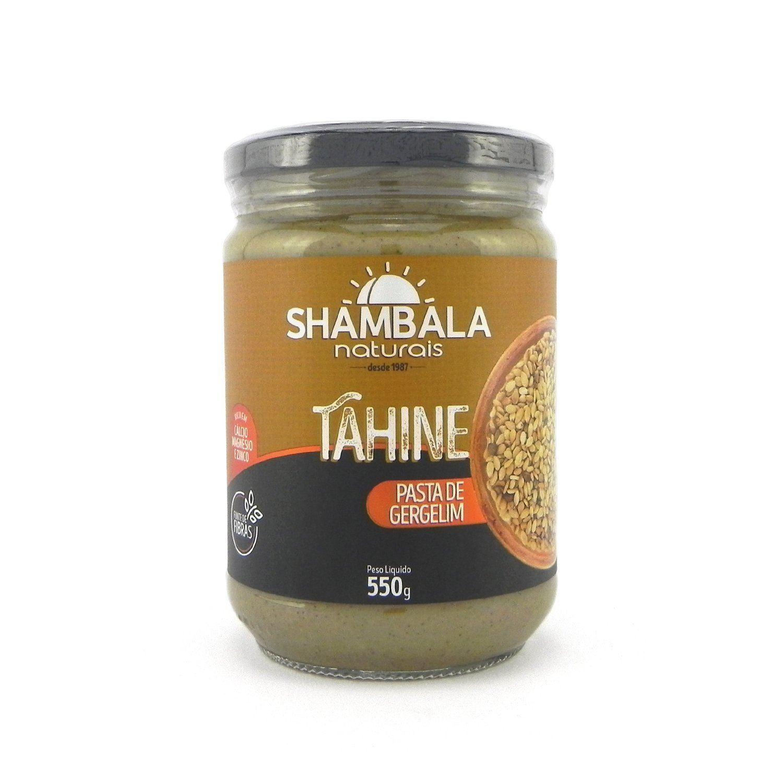 Pasta de gergelim integral tahine Shambala 550g