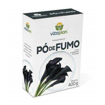 Pó de Fumo 100% Natural Nutriplan 400gr