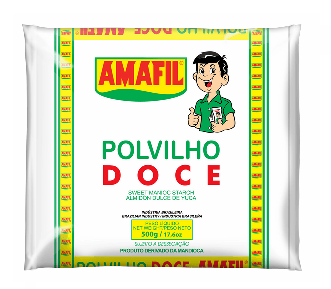 Polvilho doce Amafil 500g