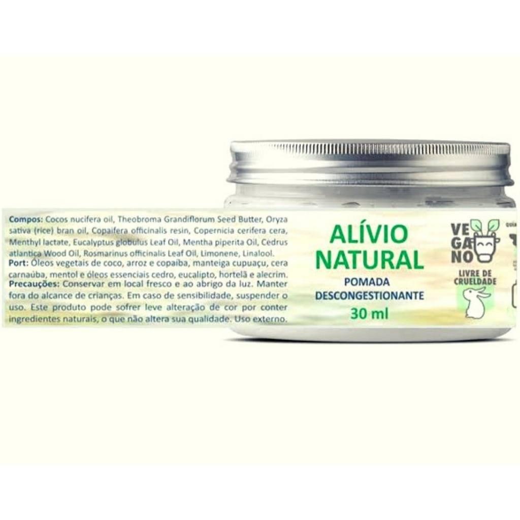 Pomada Descongestionante Alivio Natural Bhava 30 ml