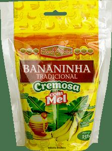 Pouch Bananinha Tradicional Cremosa Com Mel