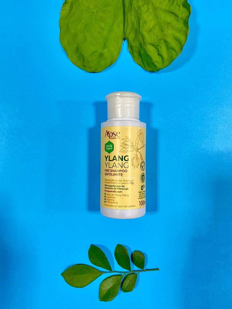 Pré Shampoo Esfoliante Ylang Ylang - Apse Cosmetics 100ml