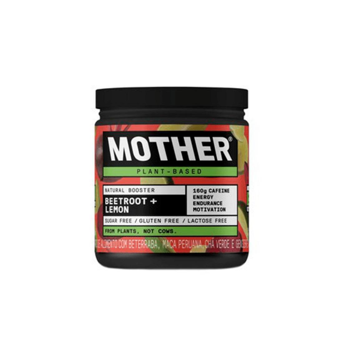Pré Treino Natural Booster Beetroot Lemon - Mother 175g