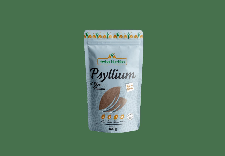 Psyllium em Pó - Herbal Nutrition 100g