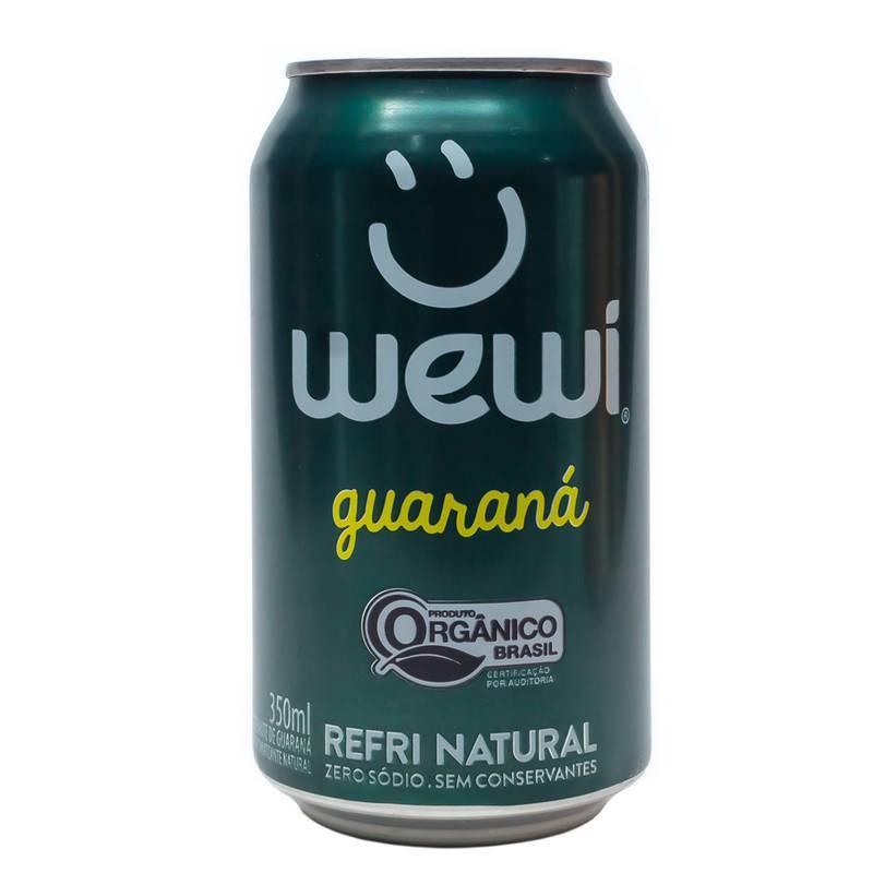 Refrigerante Orgânico Guaraná s/ Conservantes Wewi 350ml